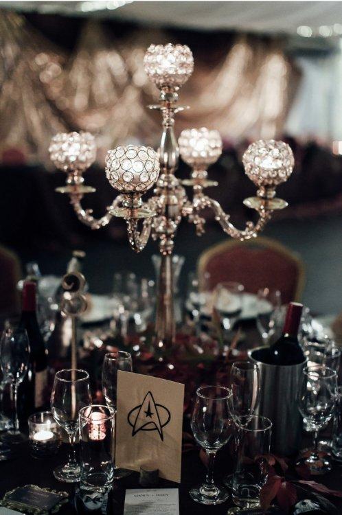 Gold and Crystal Elegant Candelabra