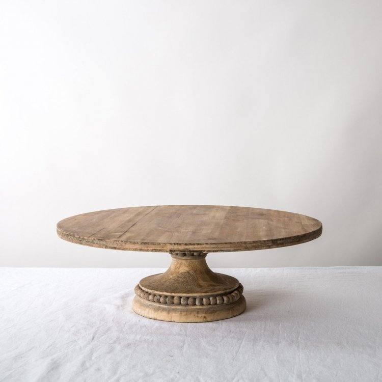 French Timber Cake Stand