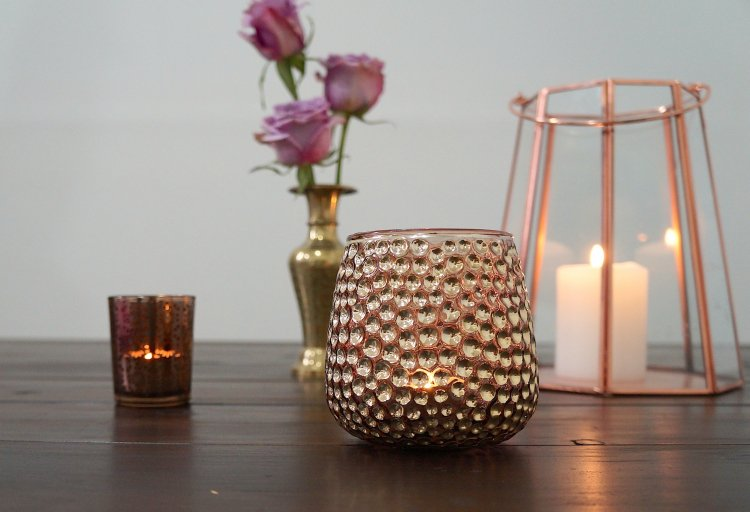 Speckled Candleholder
