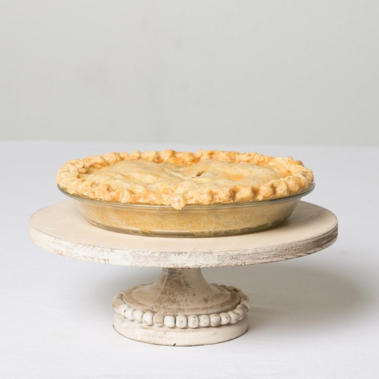 White French Timber Cake Stand