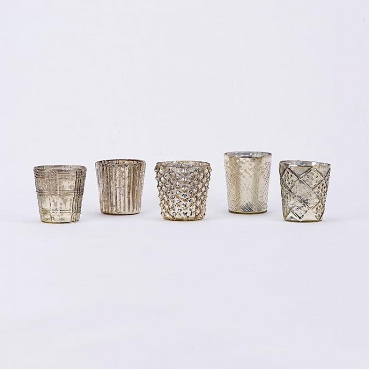 Gold Mercury Votives