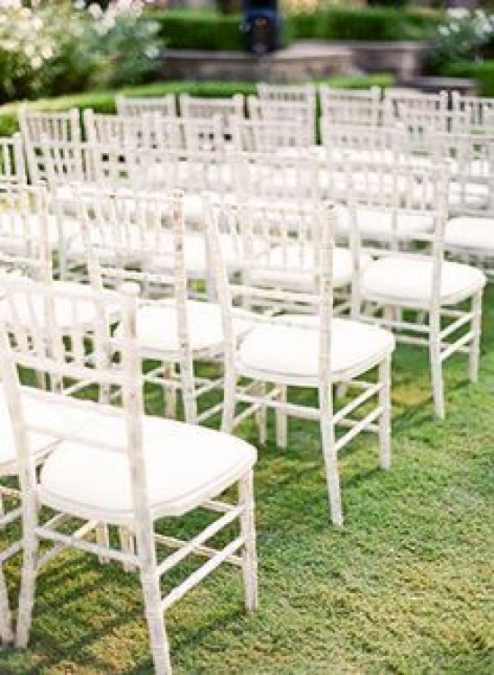 White Tiffany Timber Chairs