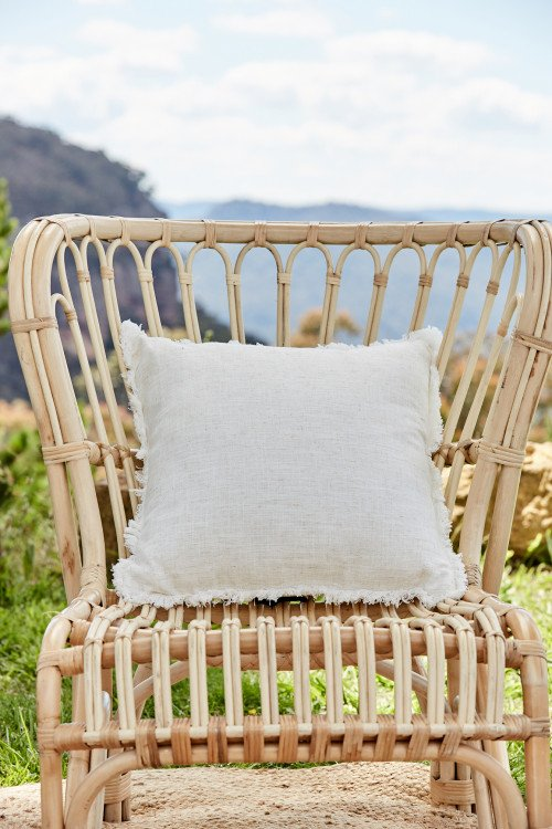 Cushion - Natural Linen