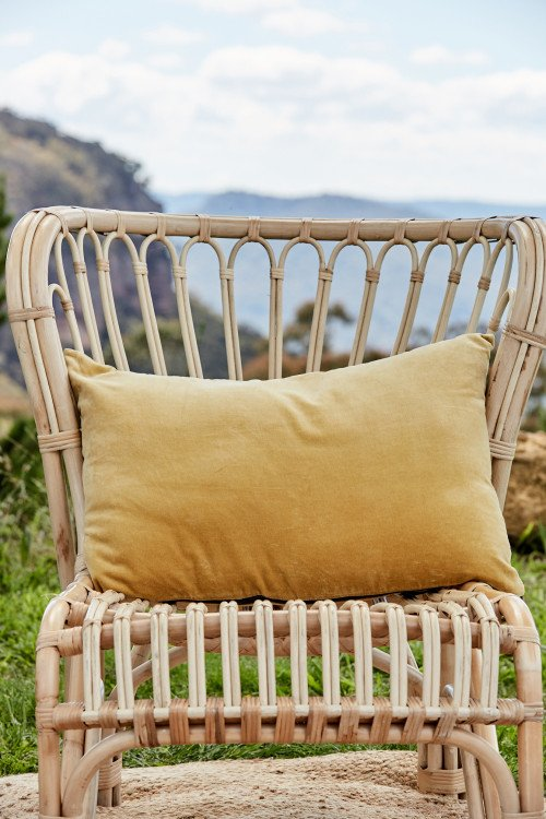 Cushion - Luxe Gold Velvet