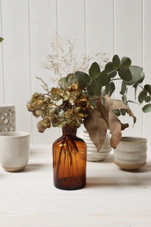 Vase - Amber Bottle