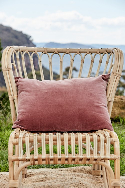 Cushion - Luxe Dusty Pink Velvet