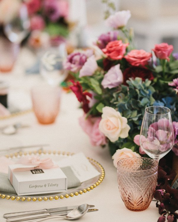 Glassware - Cut Crystal Rose Waterglass
