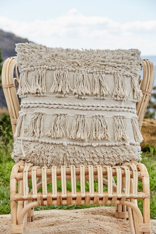 Cushion - Large Macrame