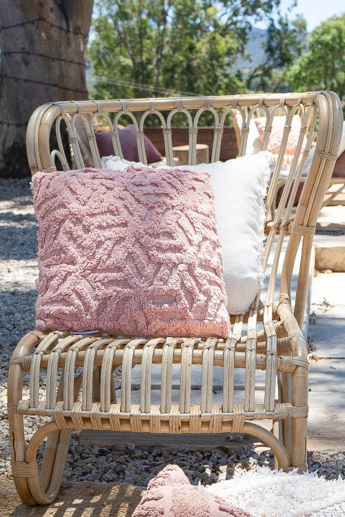 Cushion - Peach Schnapps Textured
