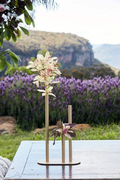 Vase - Tall Contemporary Stem Holder