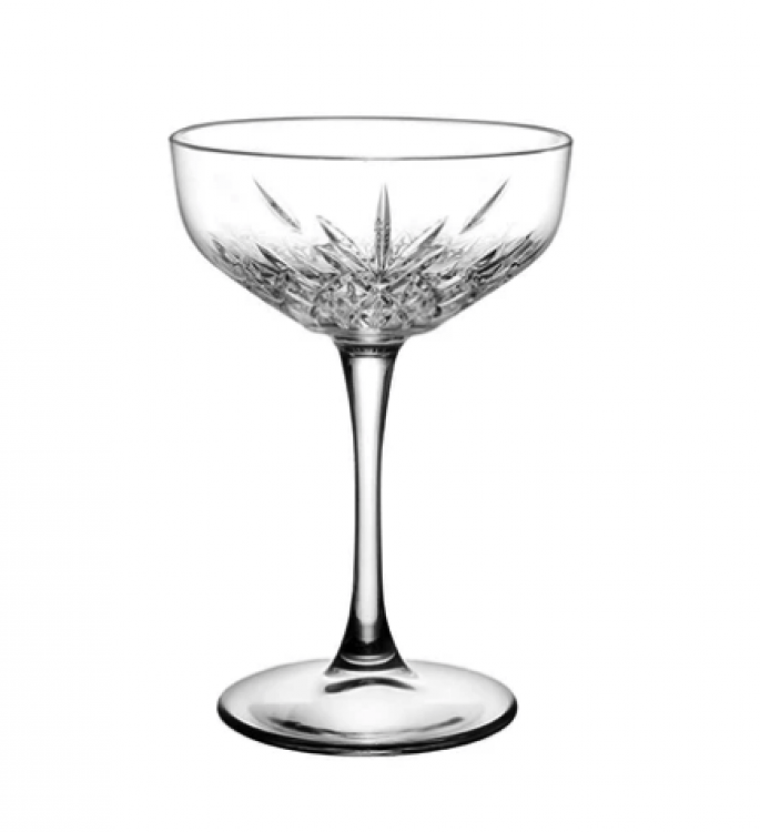 Glassware - Luxe Champagne Crystal Style Coupes